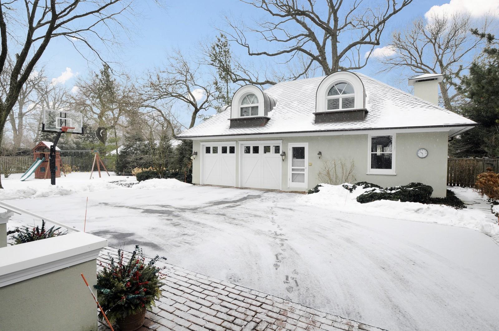 Real Estate Photography - 486 Greenleaf, Glencoe, IL, 60022 - Garage