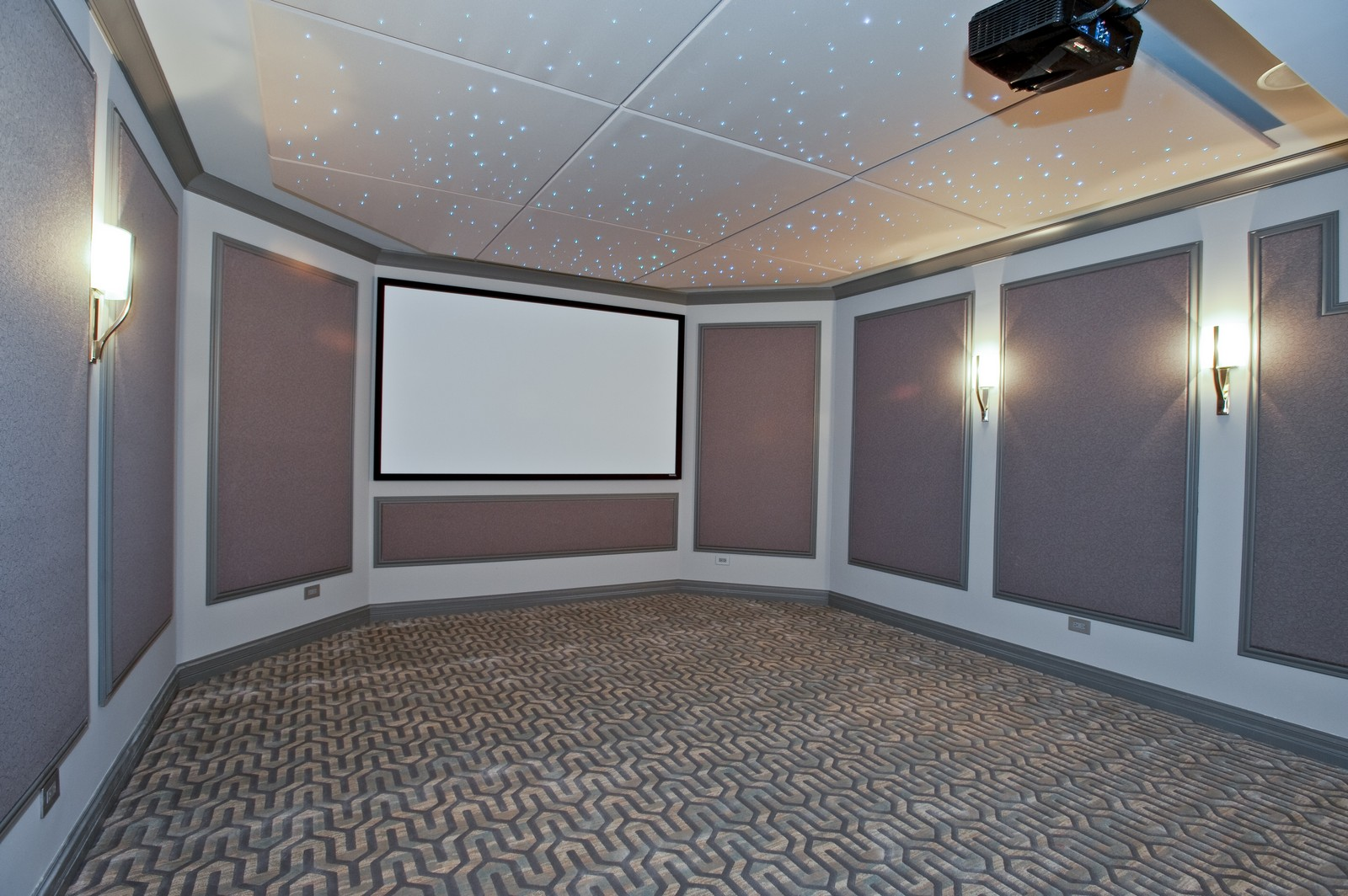 Real Estate Photography - 339 Linden, Winnetka, IL, 60093 - Theater