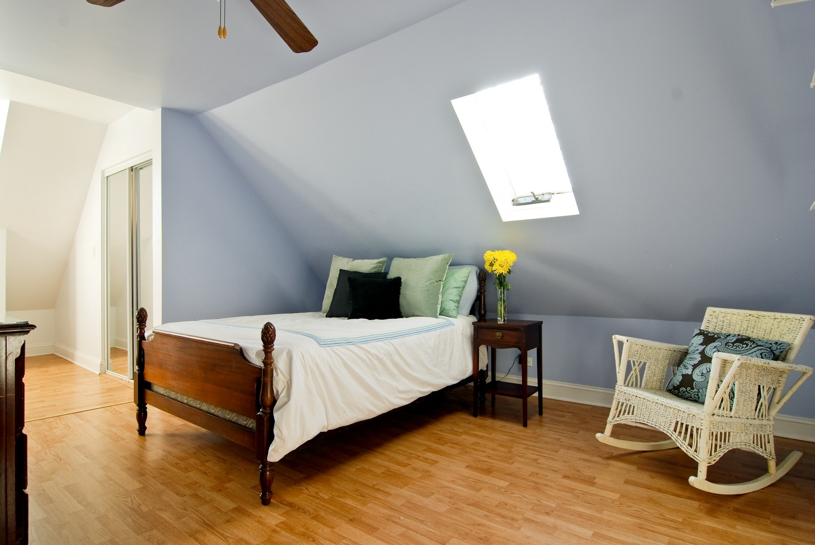 Real Estate Photography - 4300 N Avers, Chicago, IL, 60618 - Master Bedroom