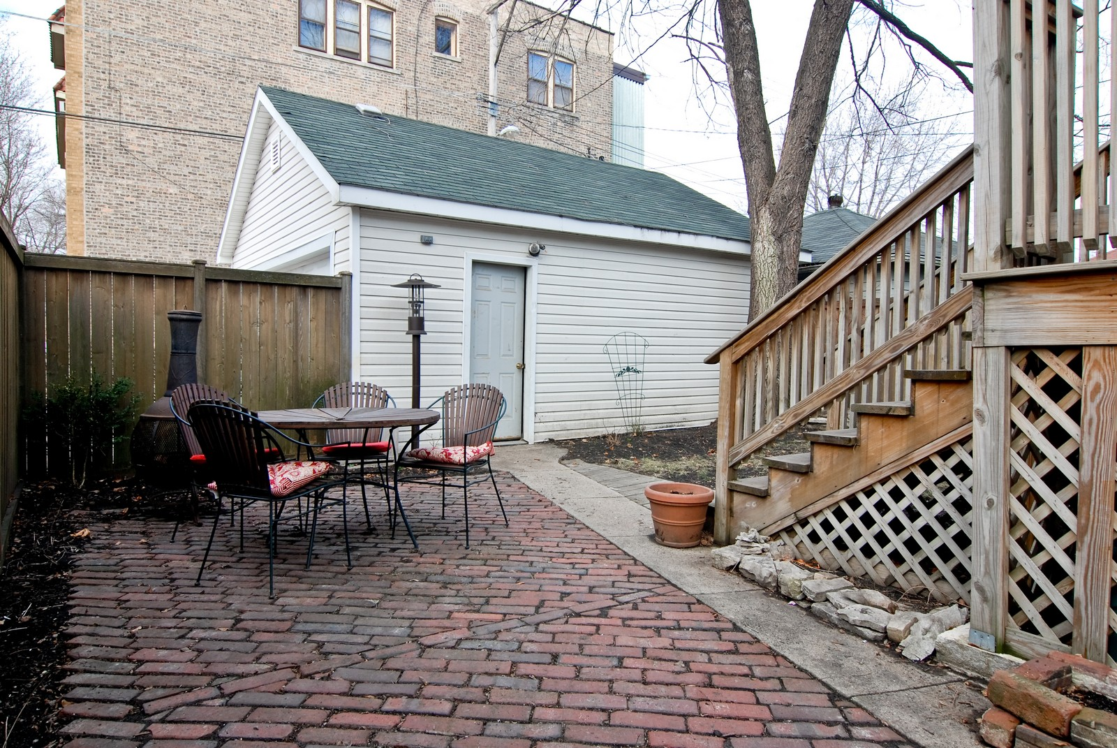 Real Estate Photography - 4300 N Avers, Chicago, IL, 60618 - Back Yard
