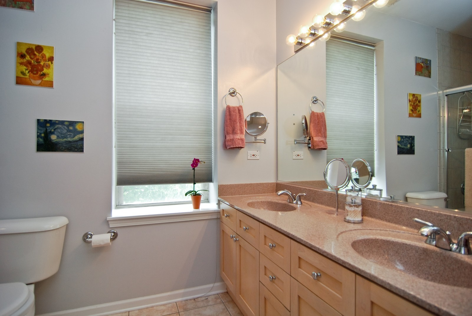 Real Estate Photography - 2869 W Palmer, Unit 3, Chicago, IL, 60647 - Master Bathroom