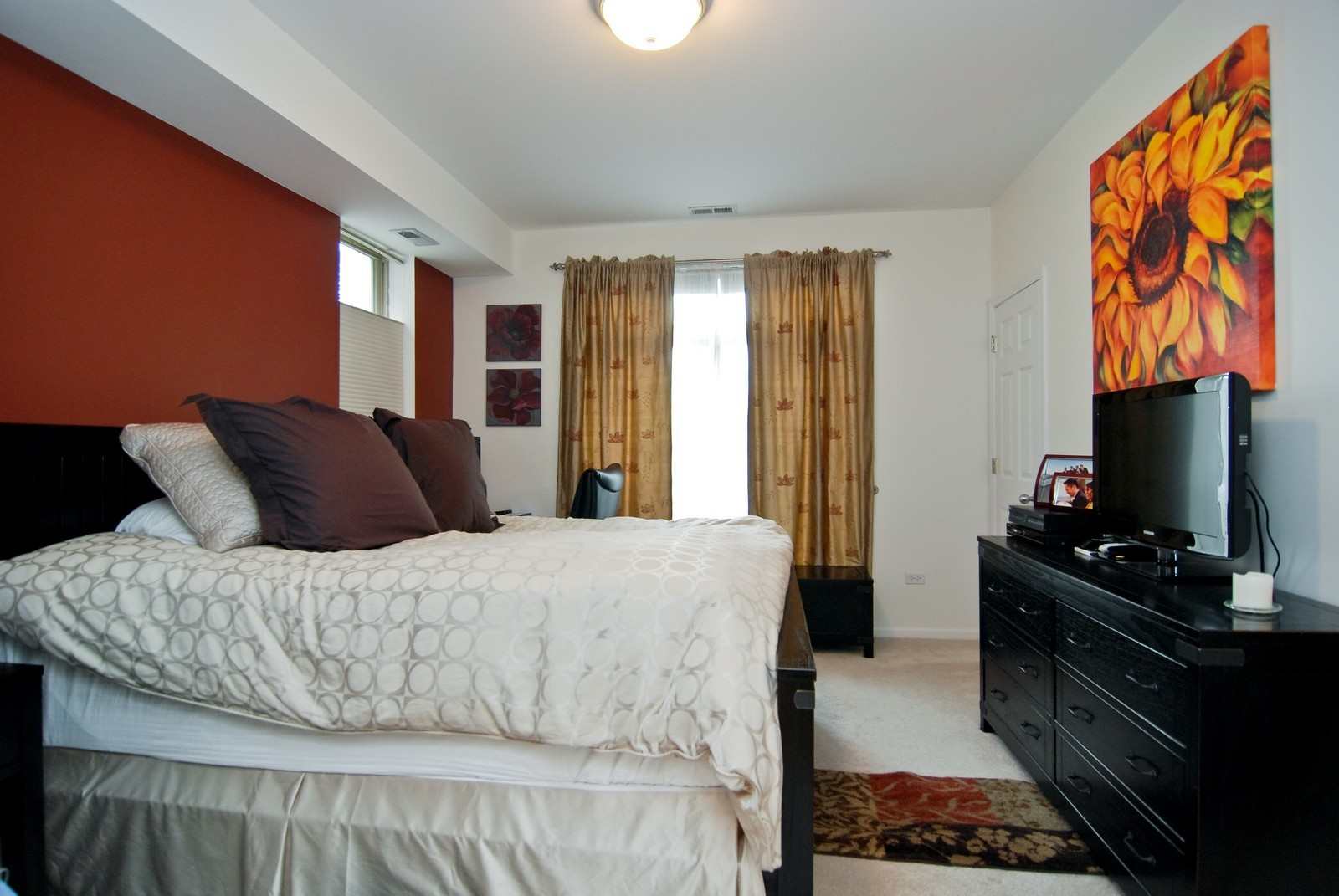 Real Estate Photography - 2869 W Palmer, Unit 3, Chicago, IL, 60647 - Master Bedroom