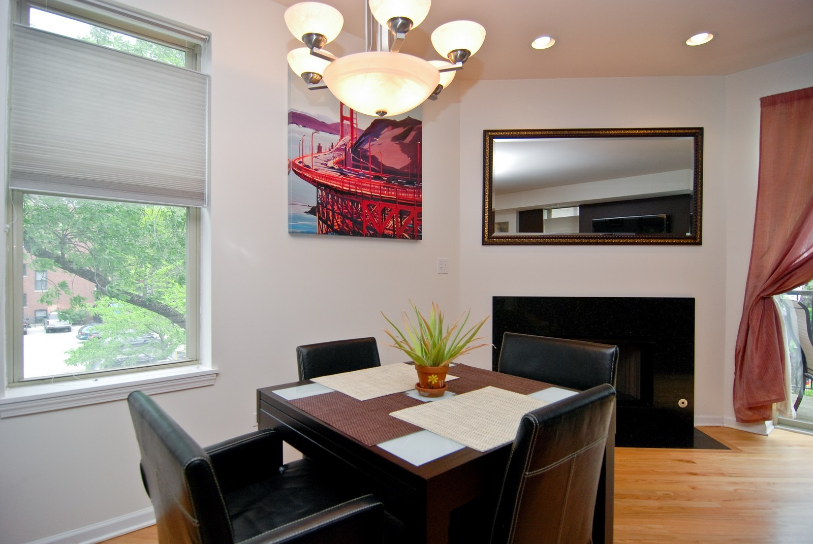 Real Estate Photography - 2869 W Palmer, Unit 3, Chicago, IL, 60647 - Dining Room