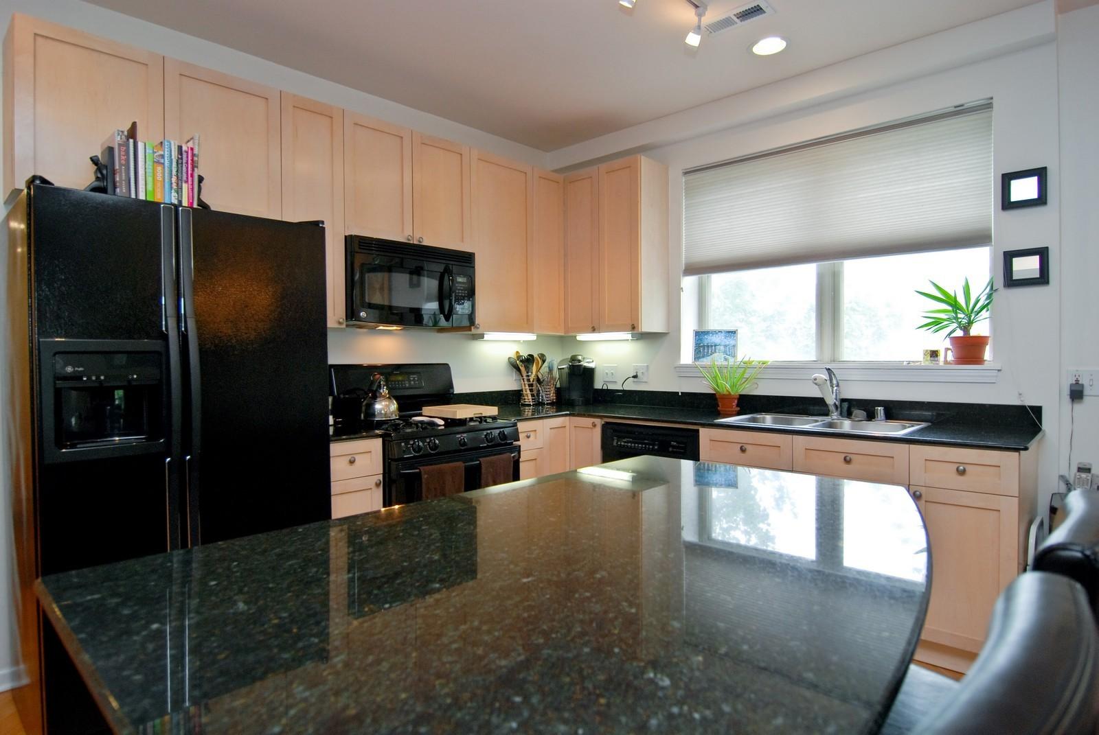 Real Estate Photography - 2869 W Palmer, Unit 3, Chicago, IL, 60647 - Kitchen
