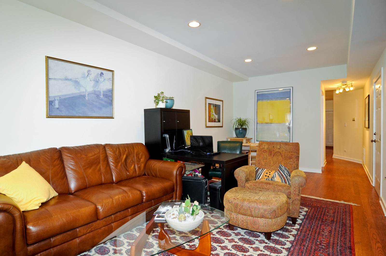 Real Estate Photography - 939 N Fairfield, Unit G, Chicago, IL, 60622 - Living Room