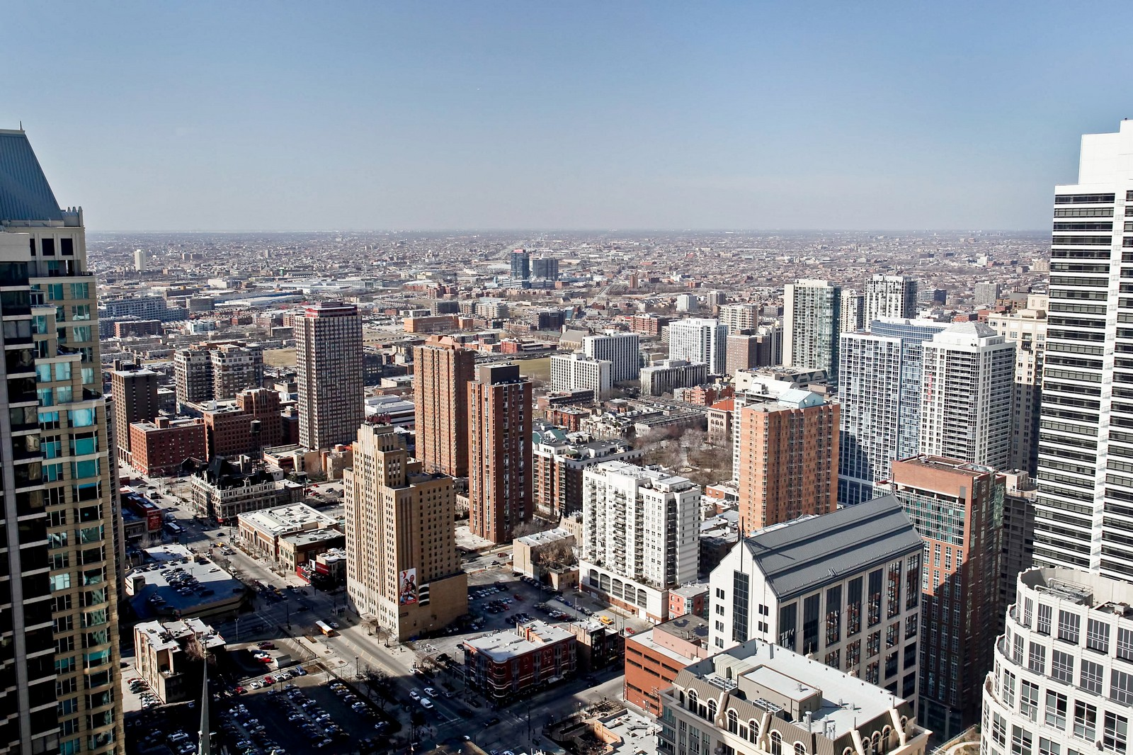 Real Estate Photography - 100 E Huron, Unit 4504, Chicago, IL, 60611 - City View