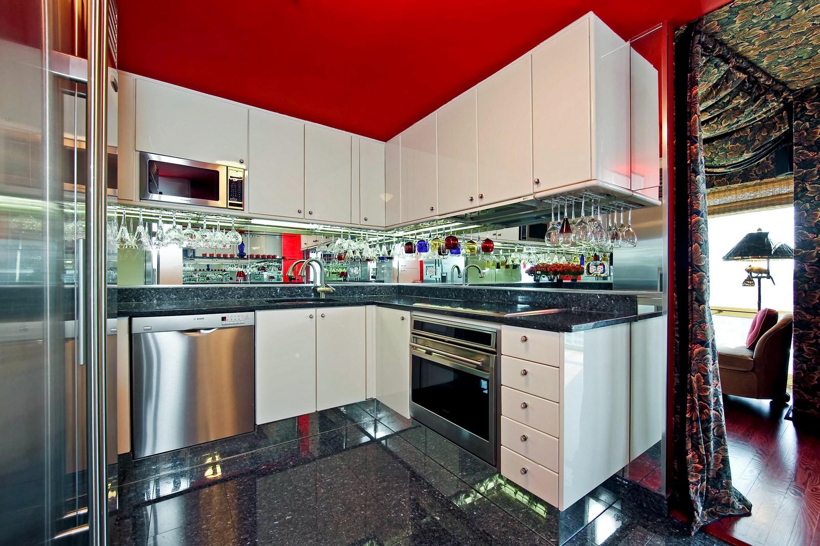 Real Estate Photography - 100 E Huron, Unit 4504, Chicago, IL, 60611 - Kitchen