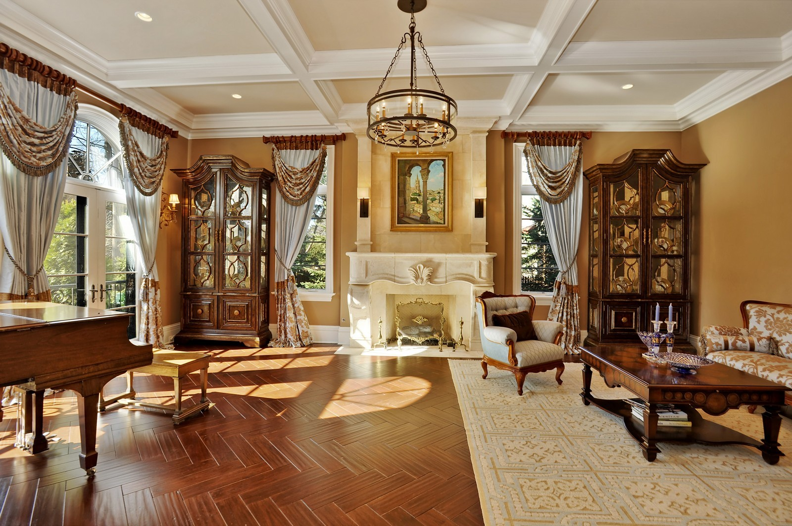 Real Estate Photography 319 Sheridan Rd Winnetka Il 60093 Living Room Look Inside Most Expensive Luxury