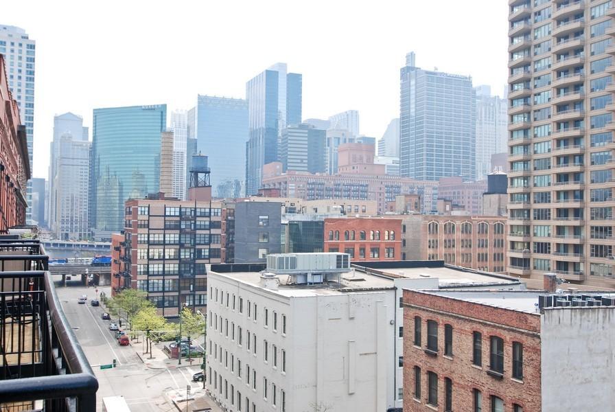 Real Estate Photography - 616 W Fulton, Unit 612, Chicago, IL, 60661 - View