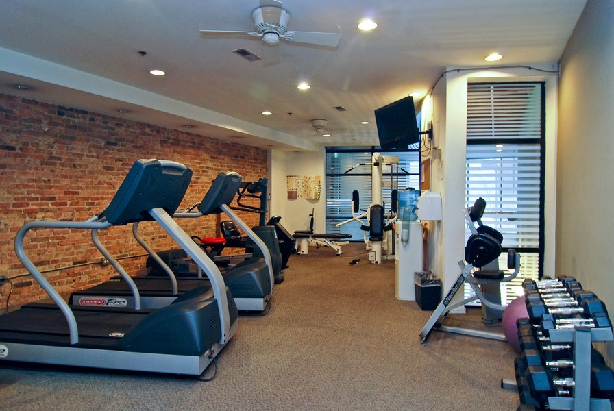 Real Estate Photography - 616 W Fulton, Unit 612, Chicago, IL, 60661 - Exercise Room