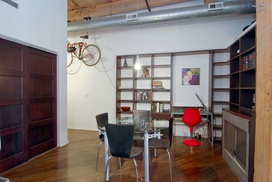 Real Estate Photography - 616 W Fulton, Unit 612, Chicago, IL, 60661 - Dining Room