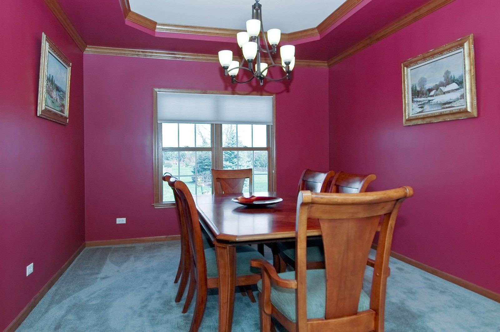 Real Estate Photography - 491 Clover, Algonquin, IL, 60102 - Dining Room