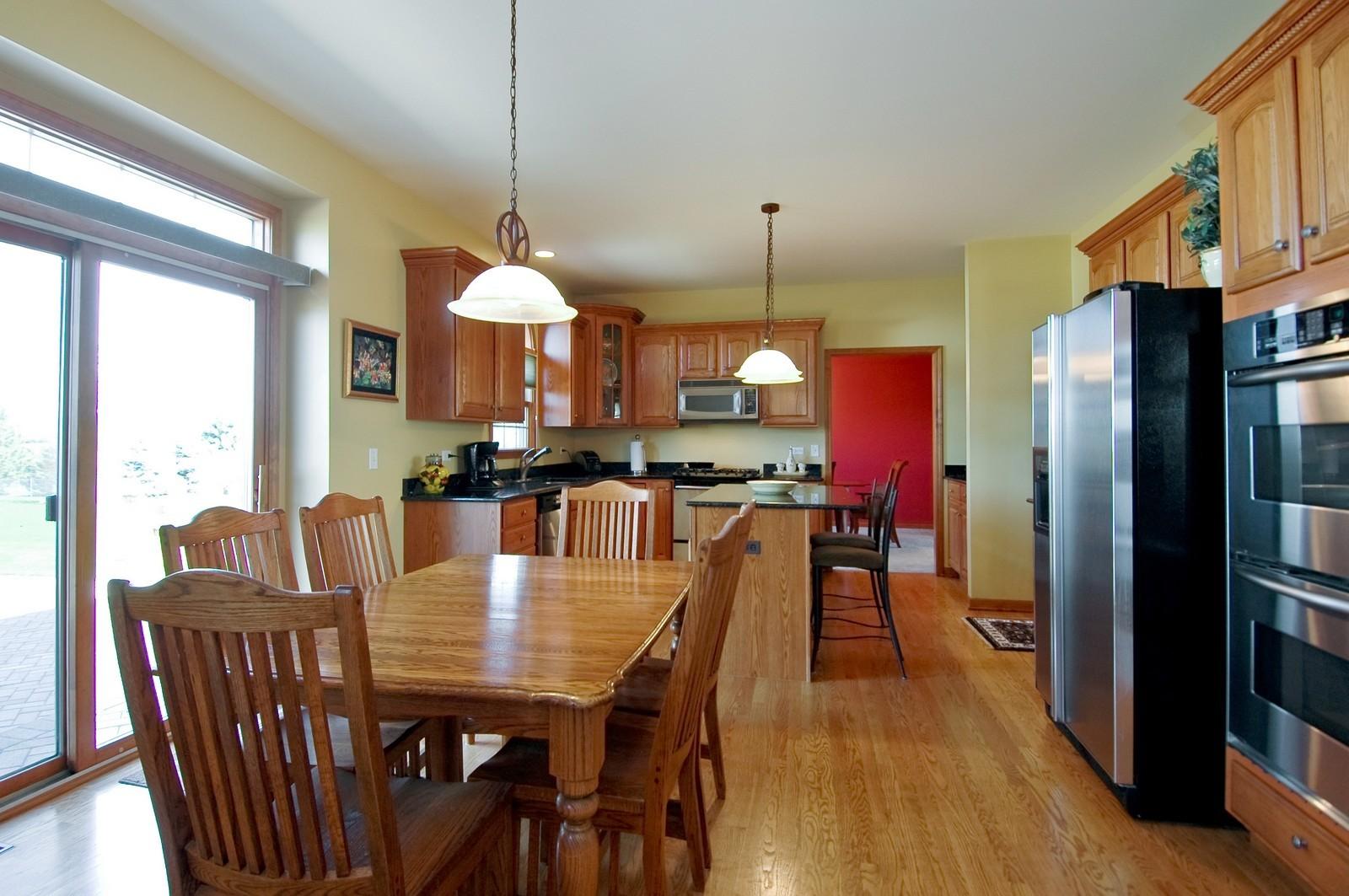 Real Estate Photography - 491 Clover, Algonquin, IL, 60102 - Kitchen