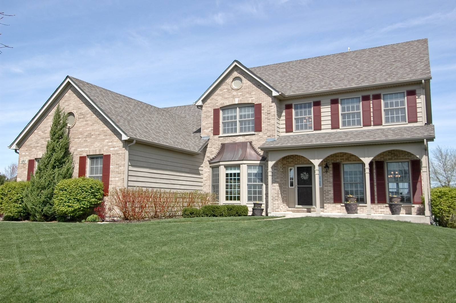 Real Estate Photography - 491 Clover, Algonquin, IL, 60102 - Front View