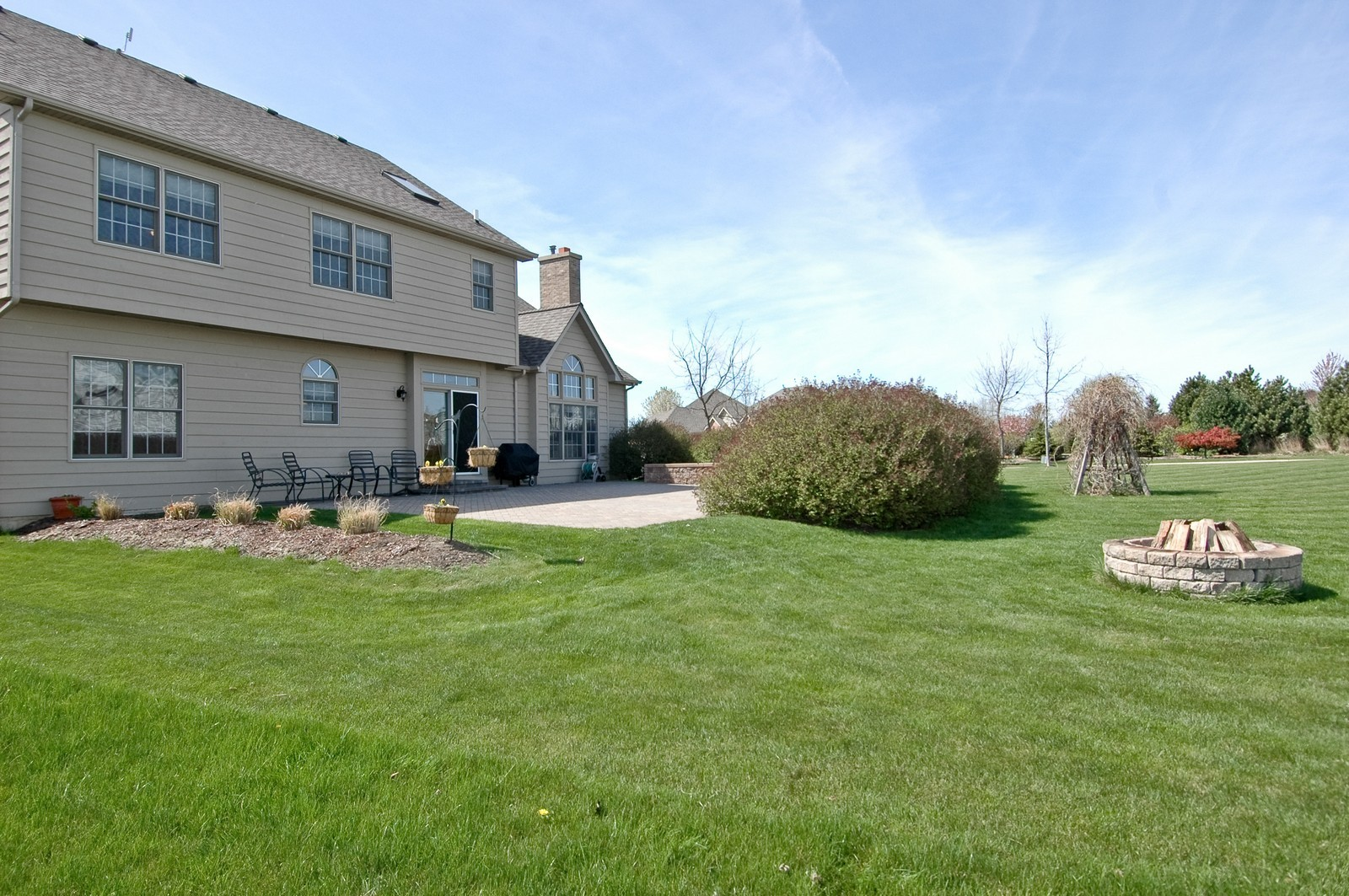 Real Estate Photography - 491 Clover, Algonquin, IL, 60102 - Rear View