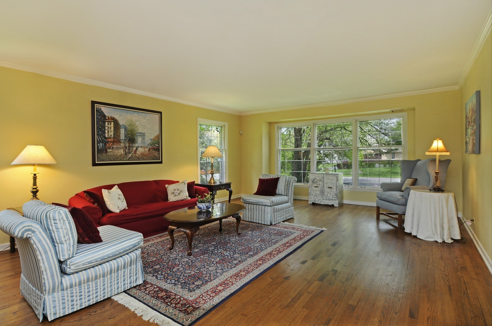 Real Estate Photography - 235 Sunset Drive, Northfield, IL, 60093 - Living Room