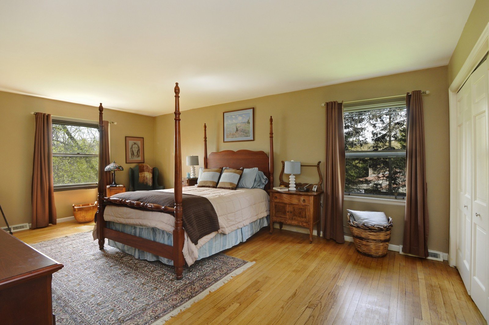 Real Estate Photography - 235 Sunset Drive, Northfield, IL, 60093 - Master Bedroom