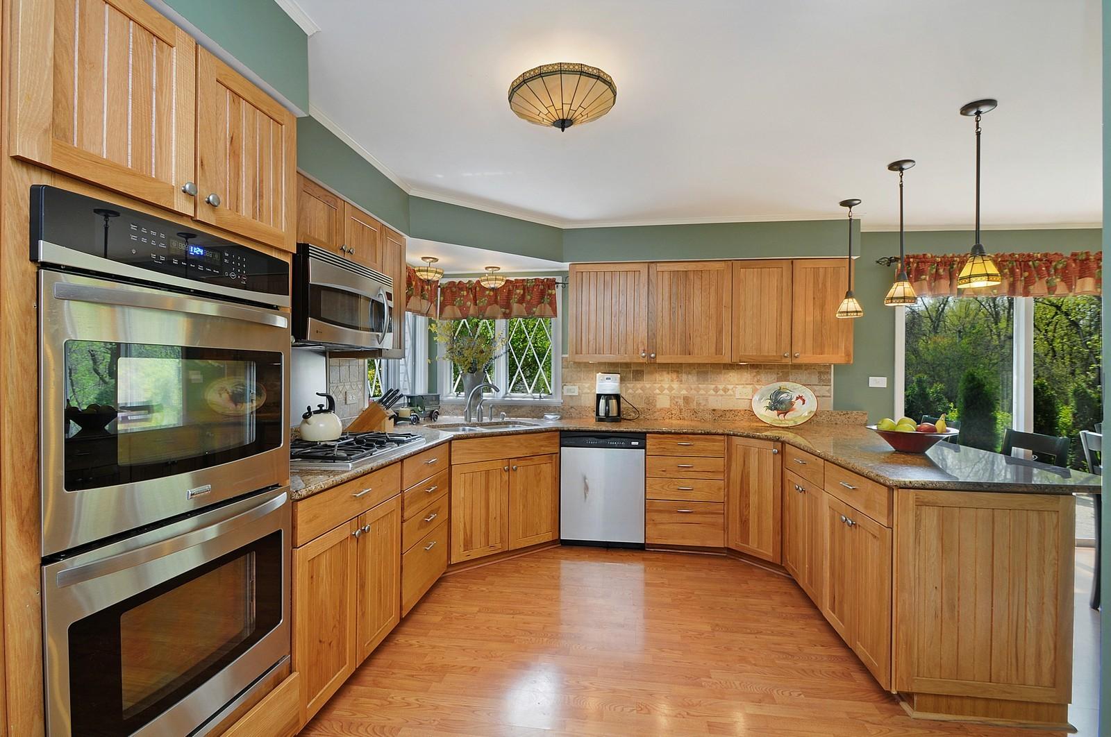 Real Estate Photography - 235 Sunset Drive, Northfield, IL, 60093 - Kitchen