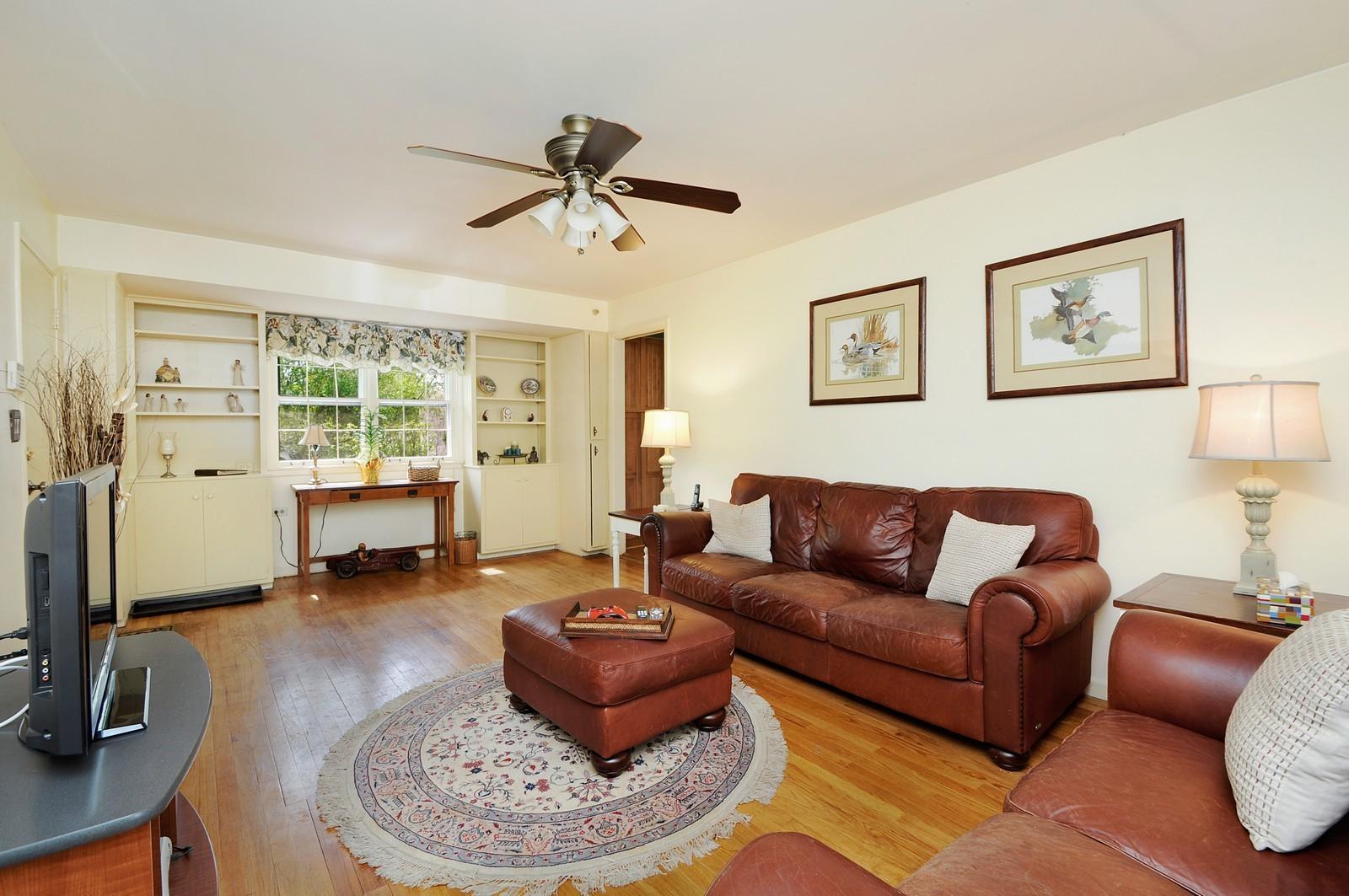 Real Estate Photography - 235 Sunset Drive, Northfield, IL, 60093 - Den