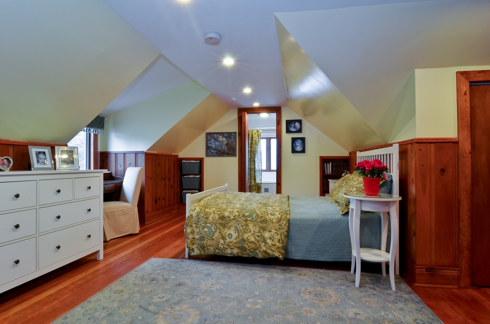Real Estate Photography - 6712 N Dowagic, Chicago, IL, 60646 - Master Bedroom