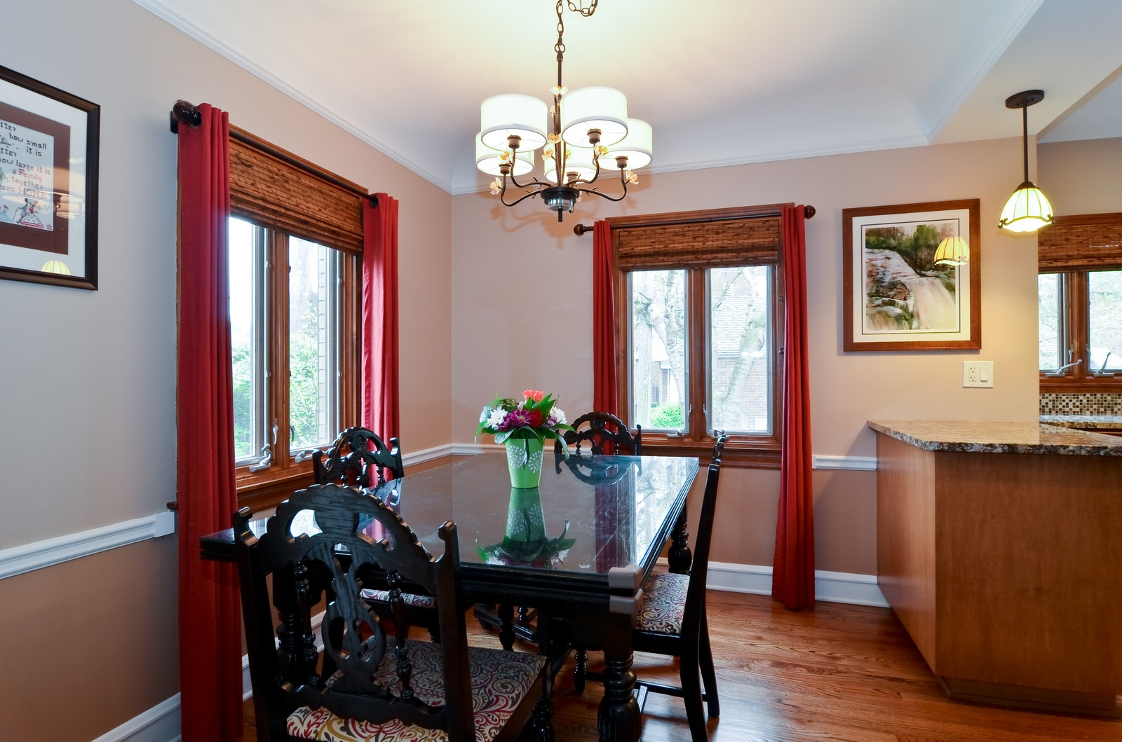 Real Estate Photography - 6712 N Dowagic, Chicago, IL, 60646 - Dining Room
