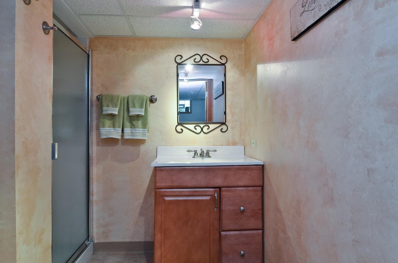 Real Estate Photography - 6712 N Dowagic, Chicago, IL, 60646 - Bathroom