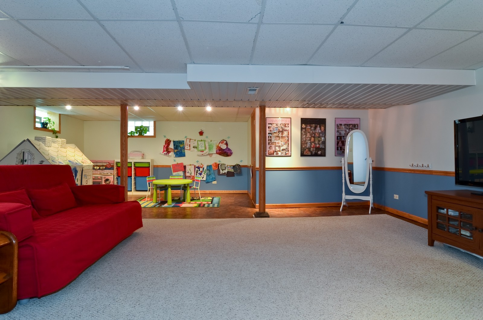 Real Estate Photography - 6712 N Dowagic, Chicago, IL, 60646 - Play / Recreational Room