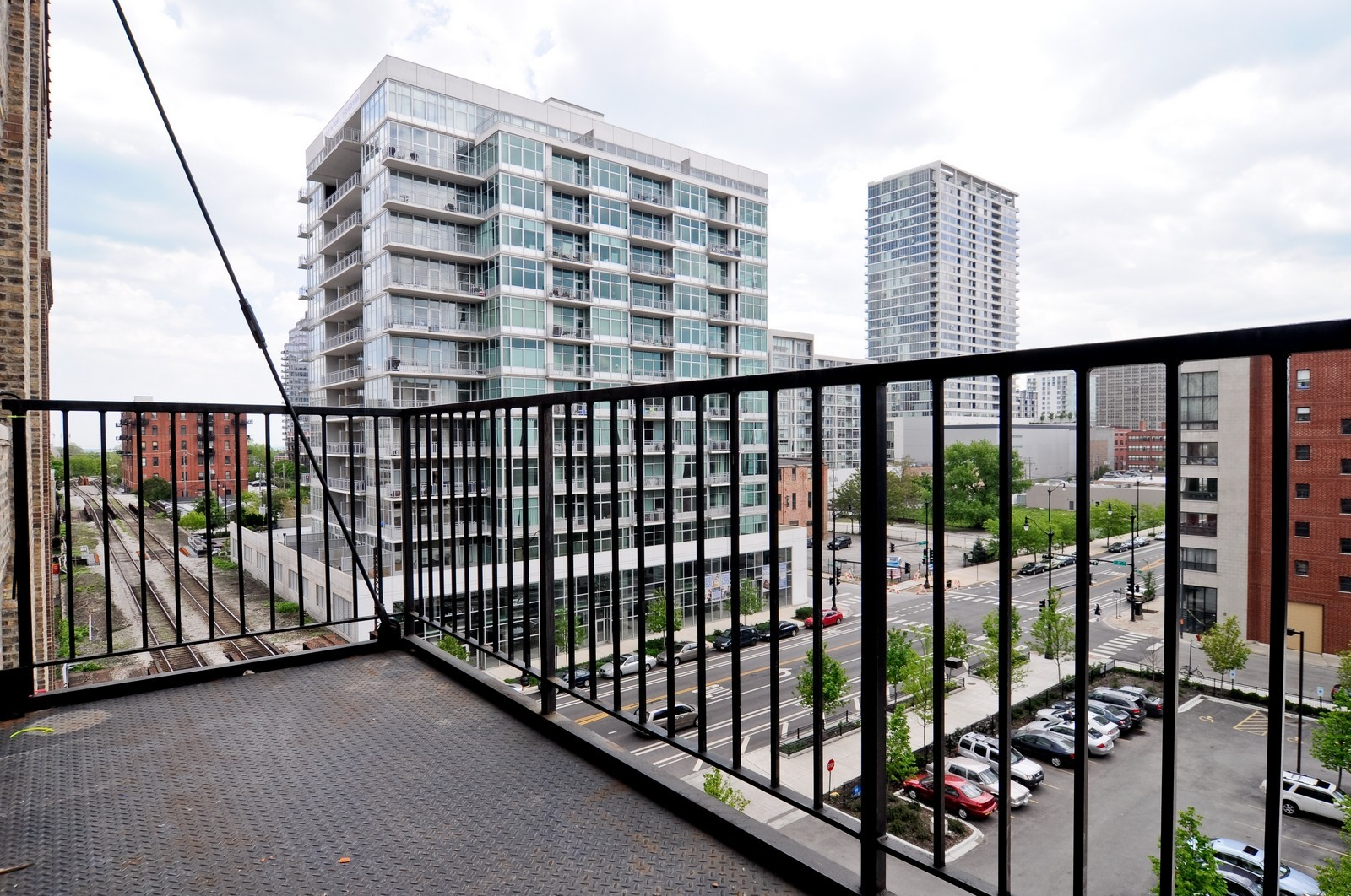 Real Estate Photography - 1528 S Wabash, Unit 509, Chicago, IL, 60605 - Terrace
