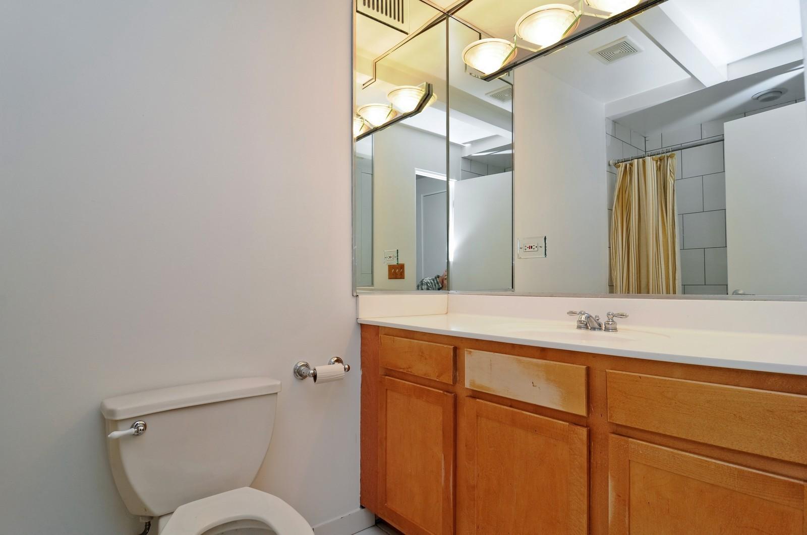 Real Estate Photography - 1528 S Wabash, Unit 509, Chicago, IL, 60605 - Bathroom