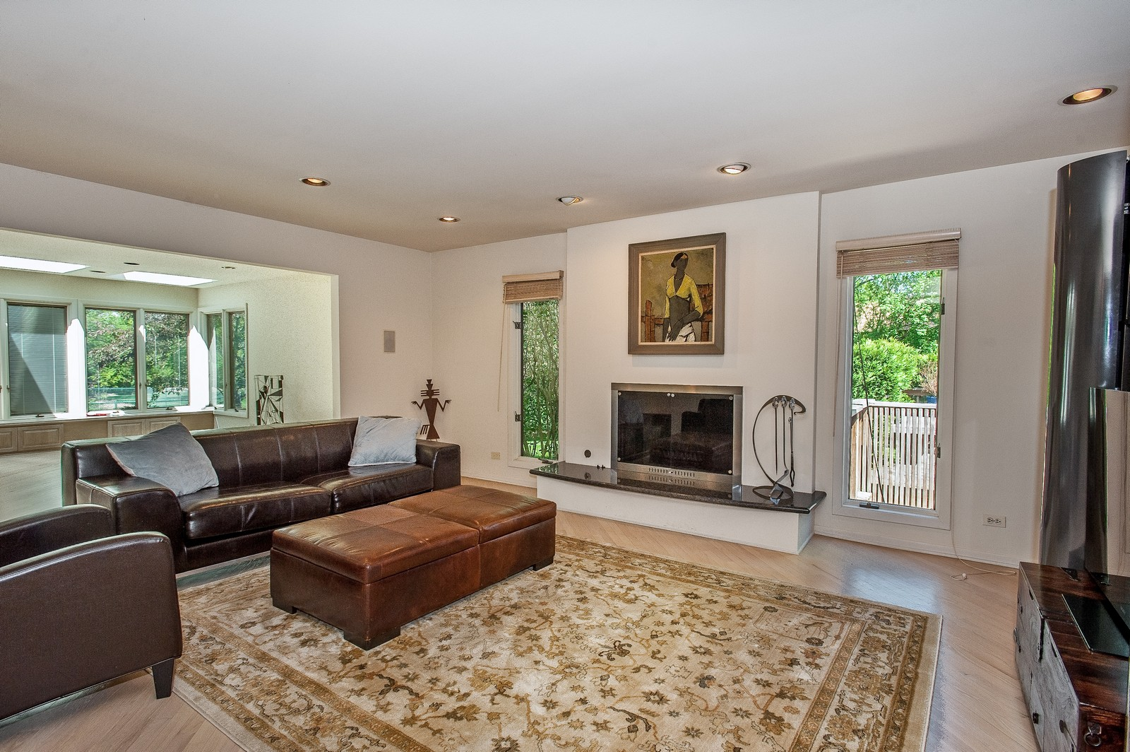 Real Estate Photography - 804 Happ Rd, Northfield, IL, 60093 - Family Room