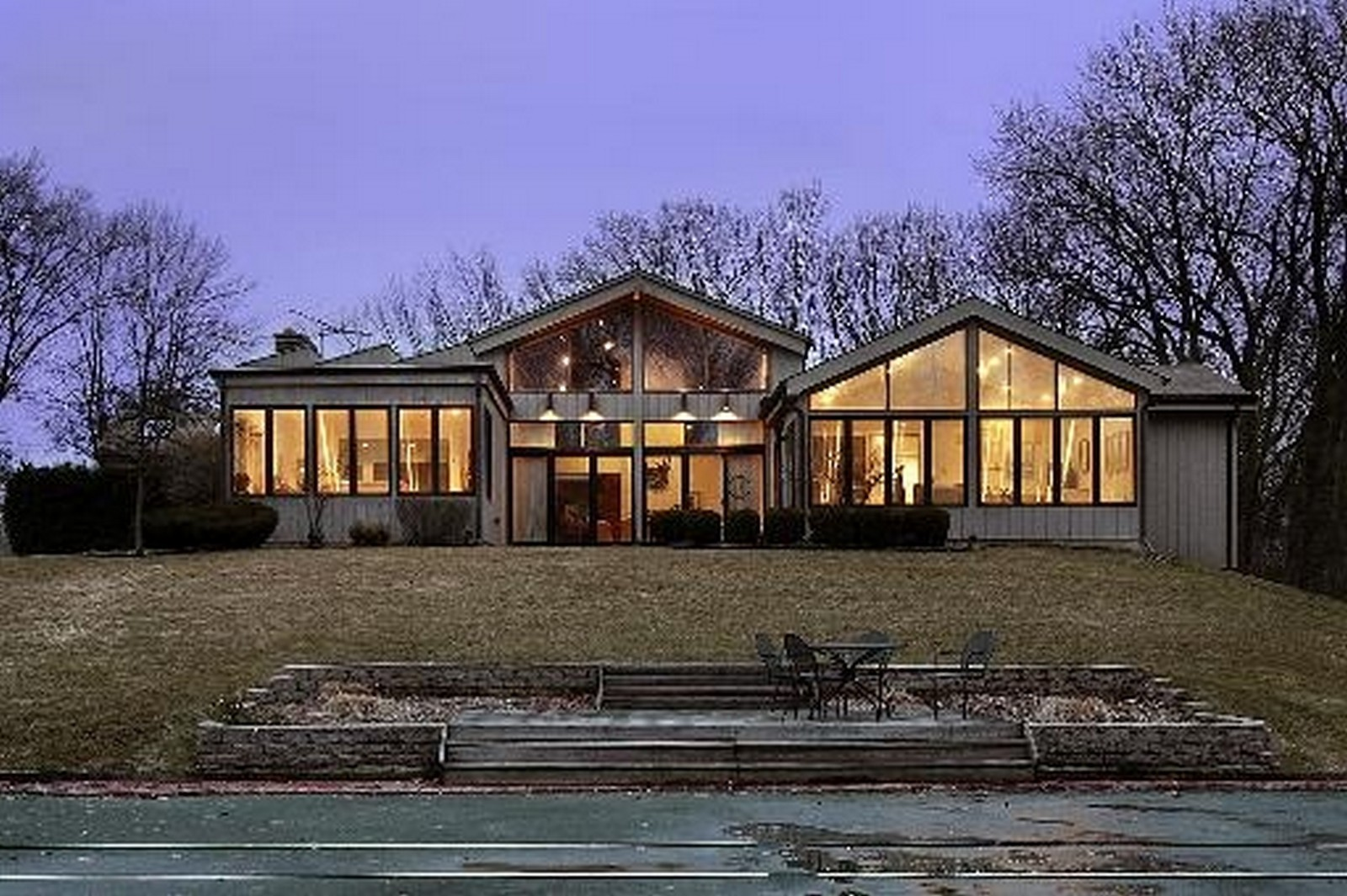 Real Estate Photography - 804 Happ Rd, Northfield, IL, 60093 - Front View
