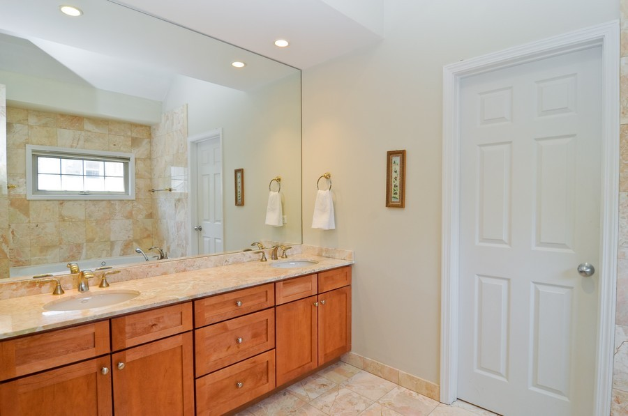 Real Estate Photography - 2628 W Cortland, Chicago, IL, 60647 - Master Bathroom