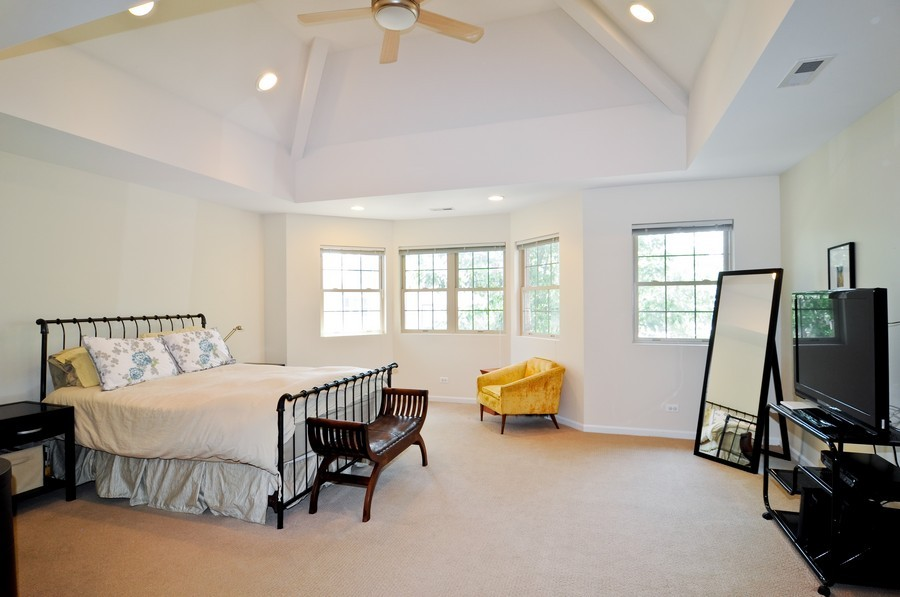 Real Estate Photography - 2628 W Cortland, Chicago, IL, 60647 - Master Bedroom