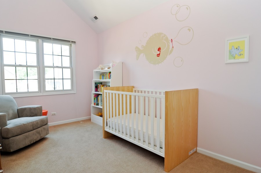 Real Estate Photography - 2628 W Cortland, Chicago, IL, 60647 - 2nd Bedroom