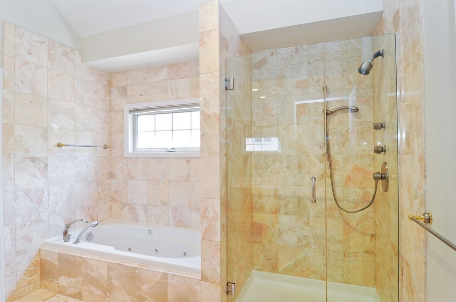 Real Estate Photography - 2628 W Cortland, Chicago, IL, 60647 - Master Bathroom