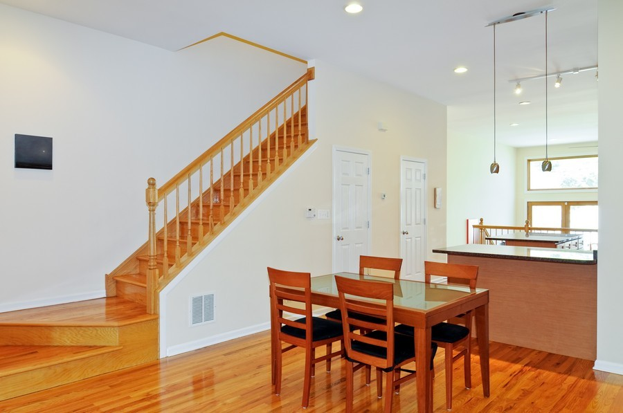 Real Estate Photography - 2628 W Cortland, Chicago, IL, 60647 - Dining Room
