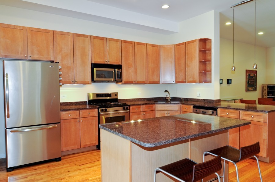 Real Estate Photography - 2628 W Cortland, Chicago, IL, 60647 - Kitchen
