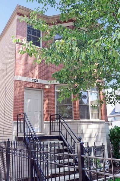 Real Estate Photography - 2628 W Cortland, Chicago, IL, 60647 - Front View