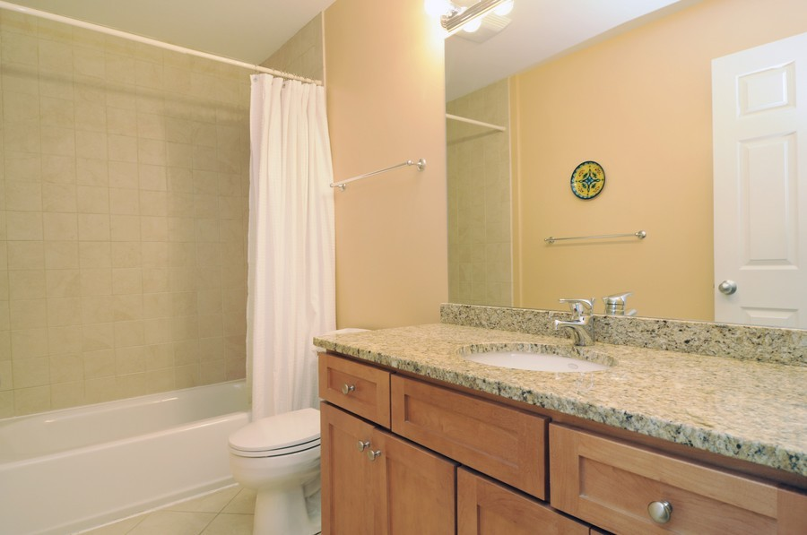 Real Estate Photography - 2628 W Cortland, Chicago, IL, 60647 - 2nd Bathroom