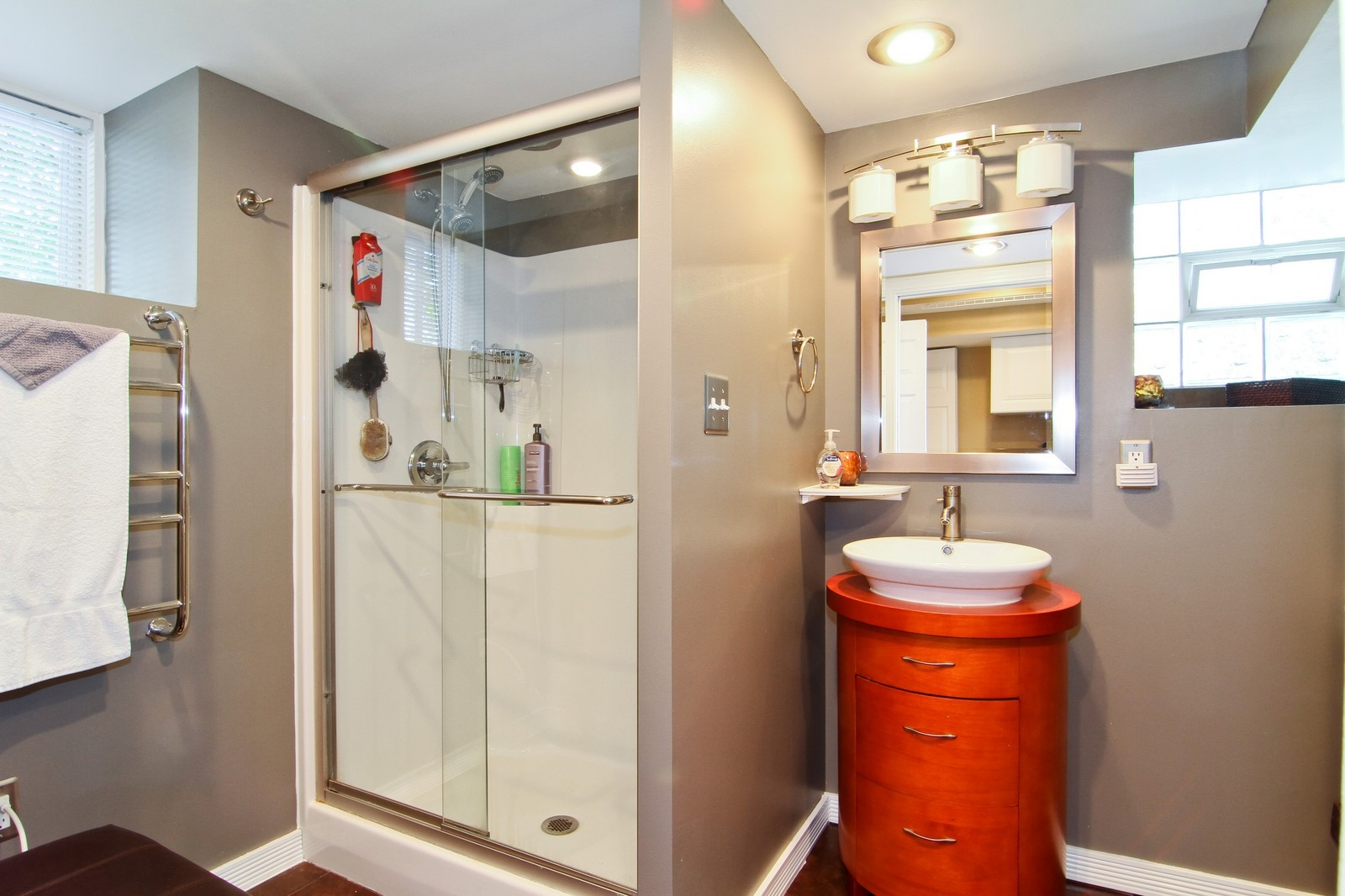 Real Estate Photography - 7760 W 82nd St, Bridgeview, IL, 60455 - 3rd Bathroom