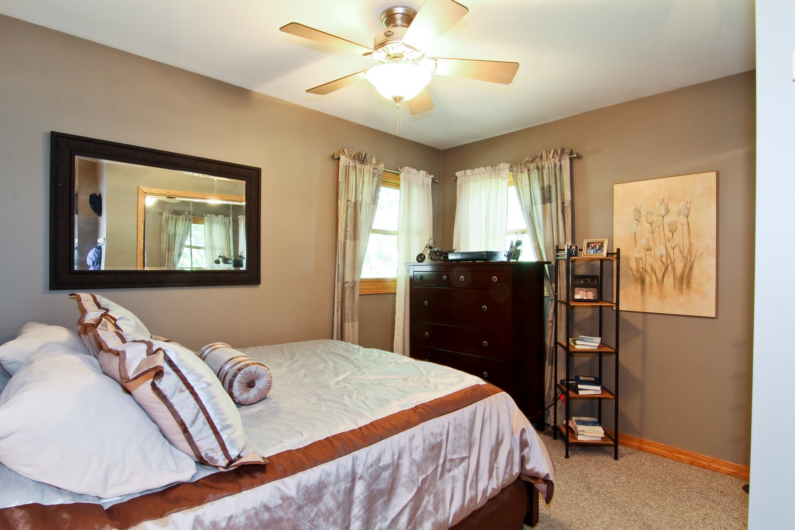 Real Estate Photography - 7760 W 82nd St, Bridgeview, IL, 60455 - Bedroom
