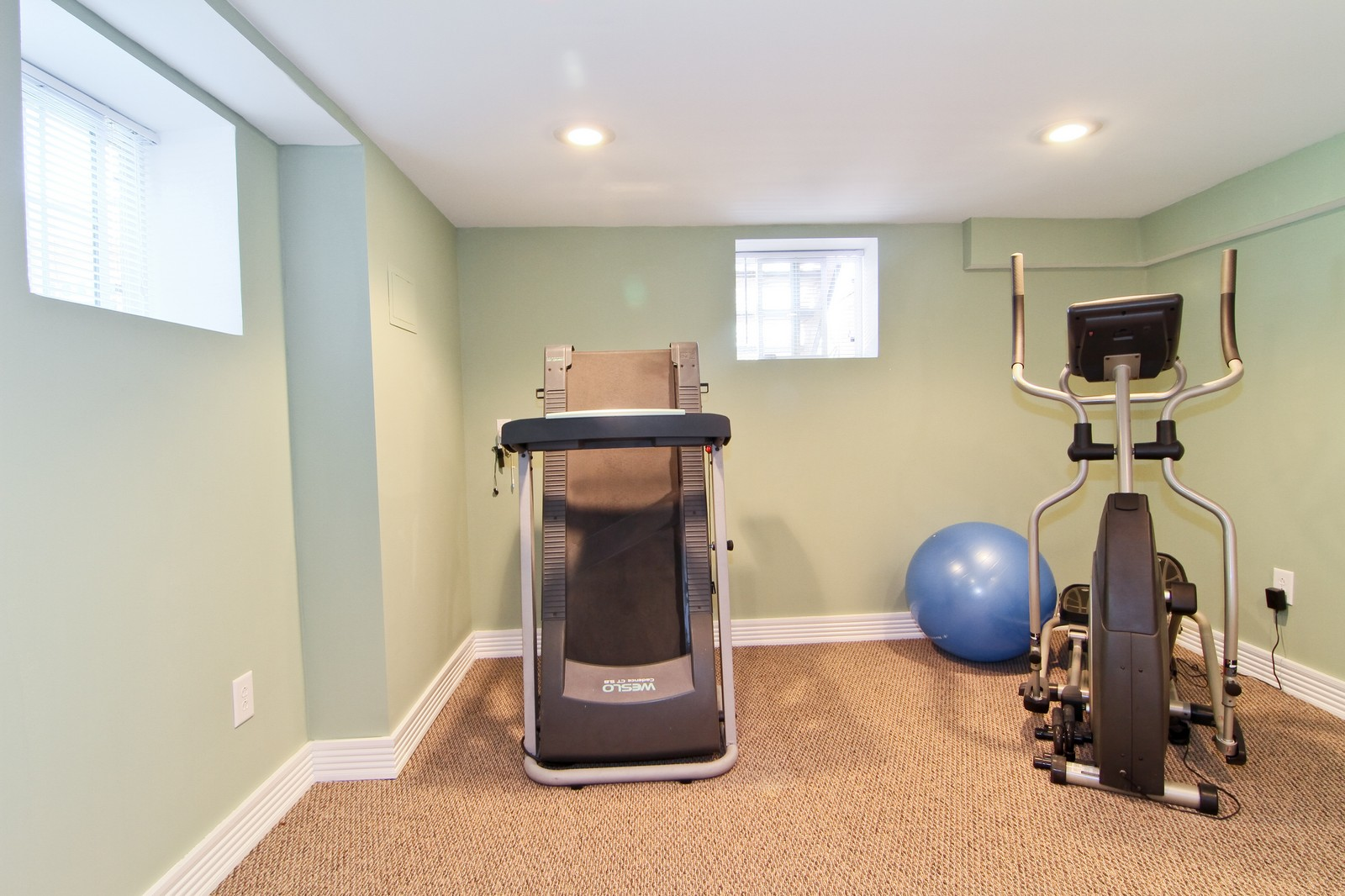 Real Estate Photography - 7760 W 82nd St, Bridgeview, IL, 60455 - Exercise Room