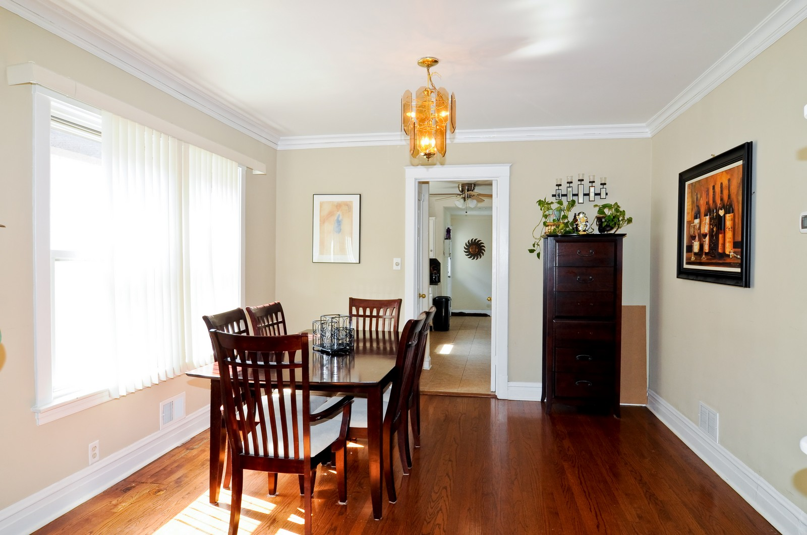 Real Estate Photography - 5743 Leland, Chicago, IL, 60630 - Dining Room