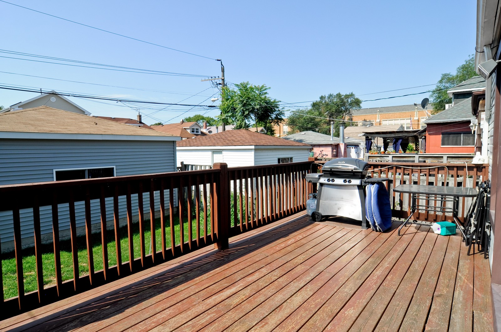 Real Estate Photography - 5743 Leland, Chicago, IL, 60630 - Deck