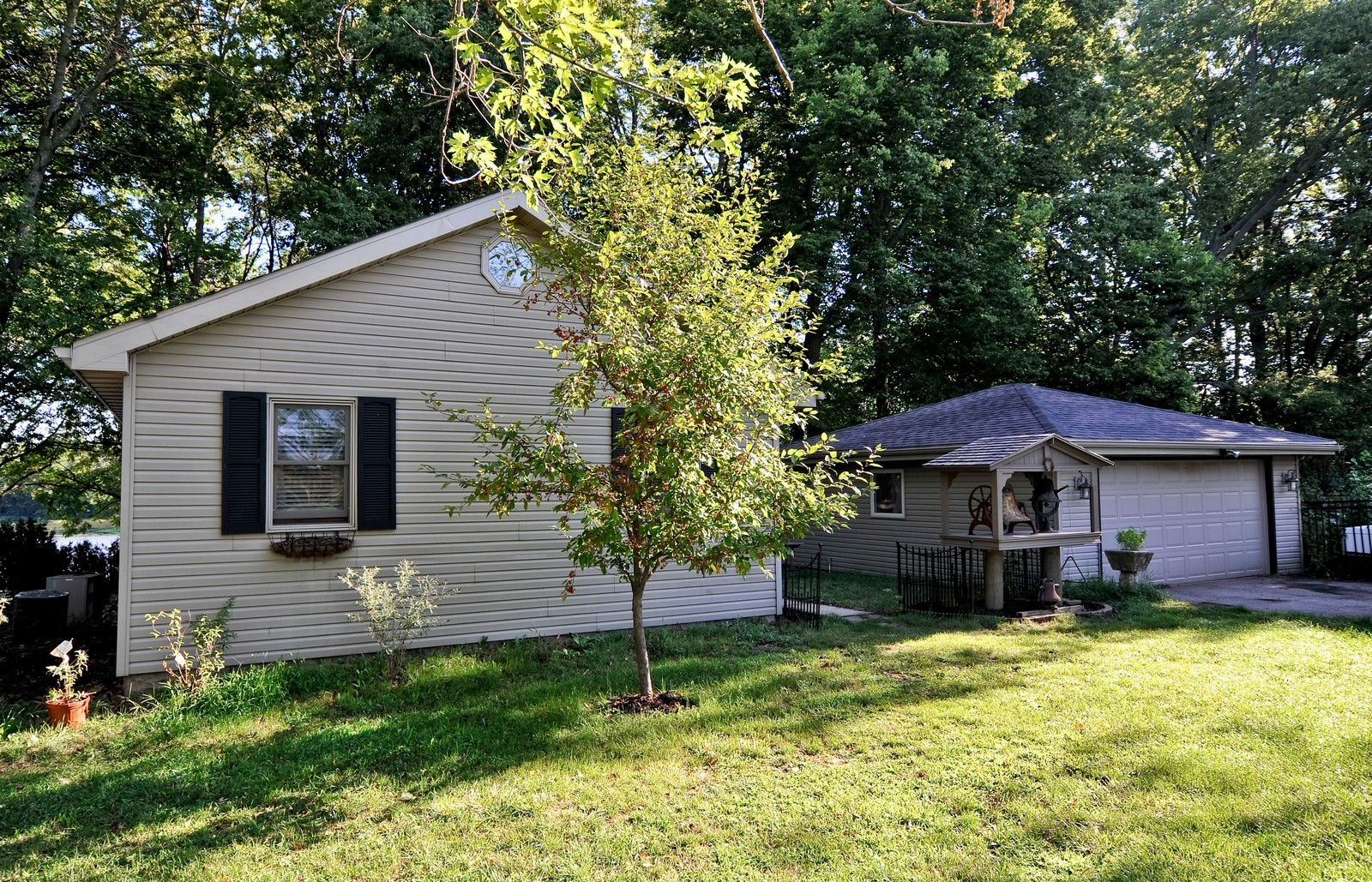 Real Estate Photography - 23250 Florian Dr, Wilmington, IL, 60481 - Front view  of main residence- 2 Bedrooms 1 Bath