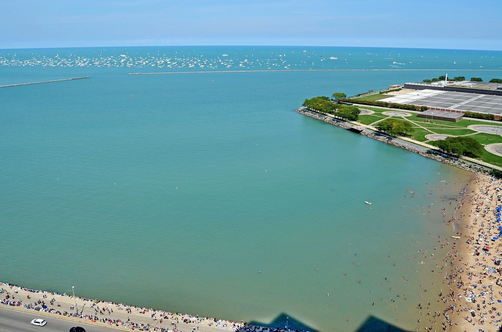 Real Estate Photography - 600 N Lake Shore Dr, Unit 2601, Chicago, IL, 60611 - View