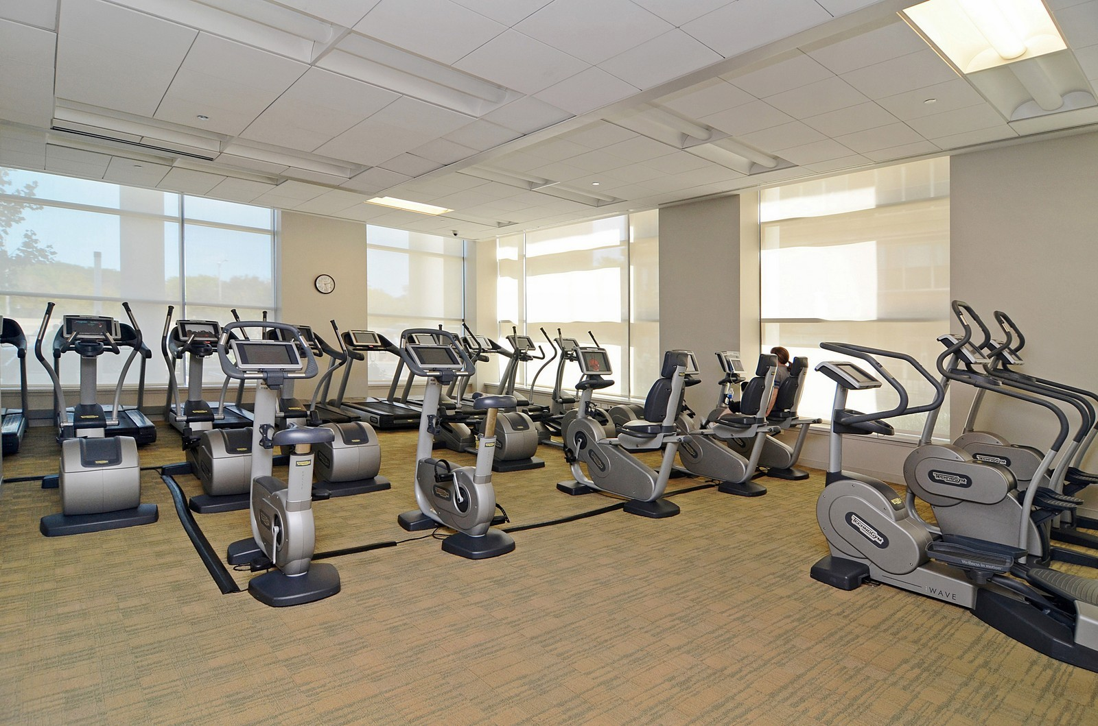 Real Estate Photography - 600 N Lake Shore Dr, Unit 2601, Chicago, IL, 60611 - Exercise Room