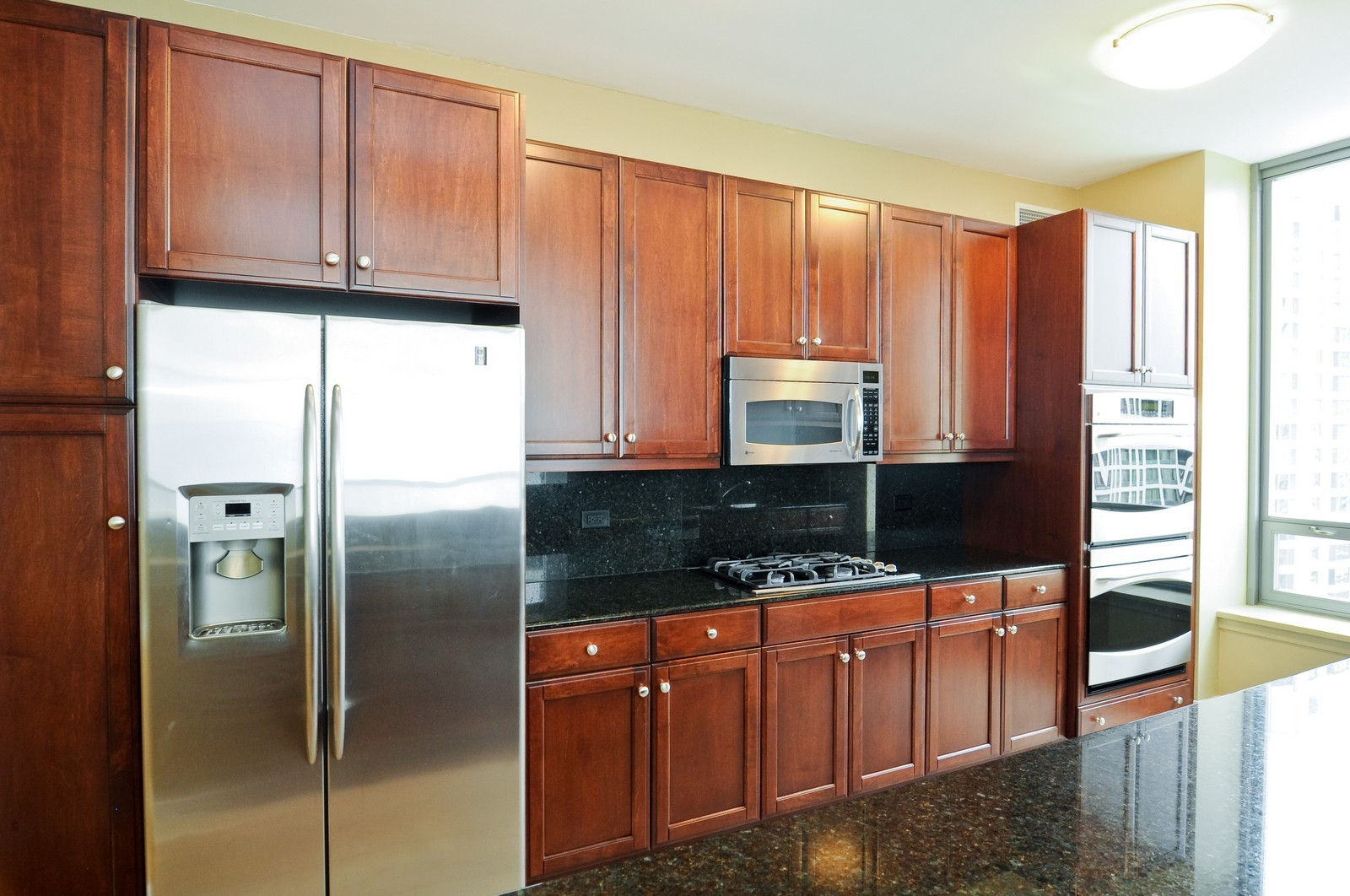 Real Estate Photography - 600 N Lake Shore Dr, Unit 2601, Chicago, IL, 60611 - Kitchen