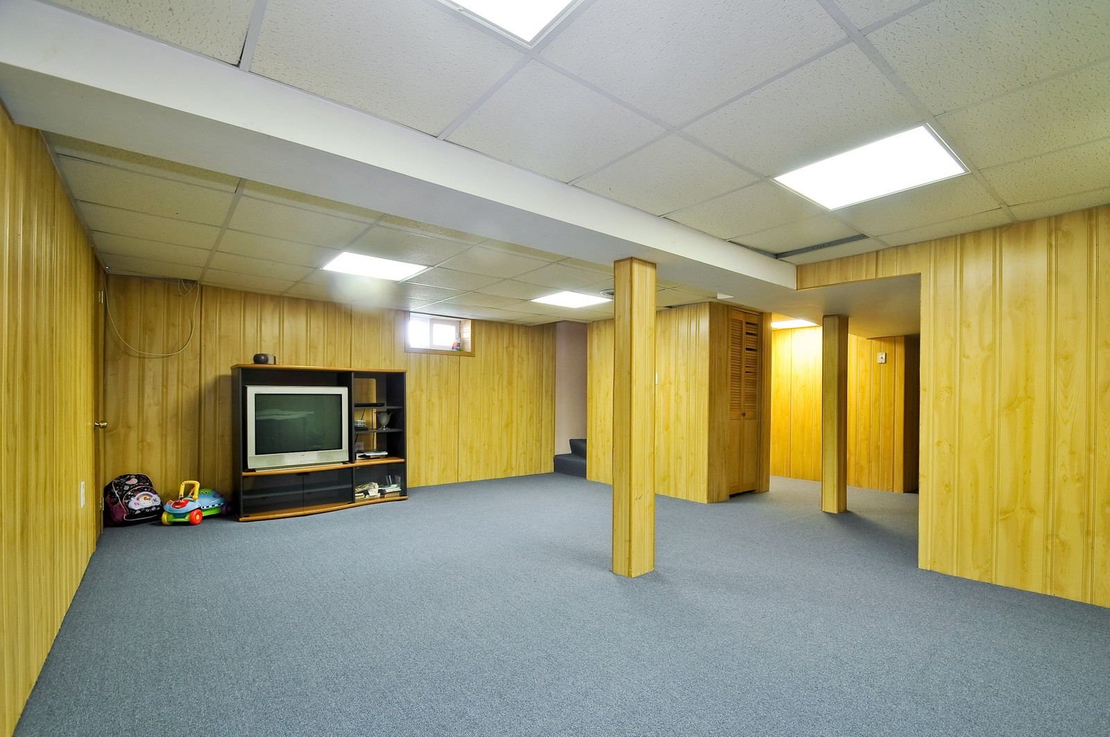 Real Estate Photography - 7227 N Lowell, Lincolnwood, IL, 60712 - Basement