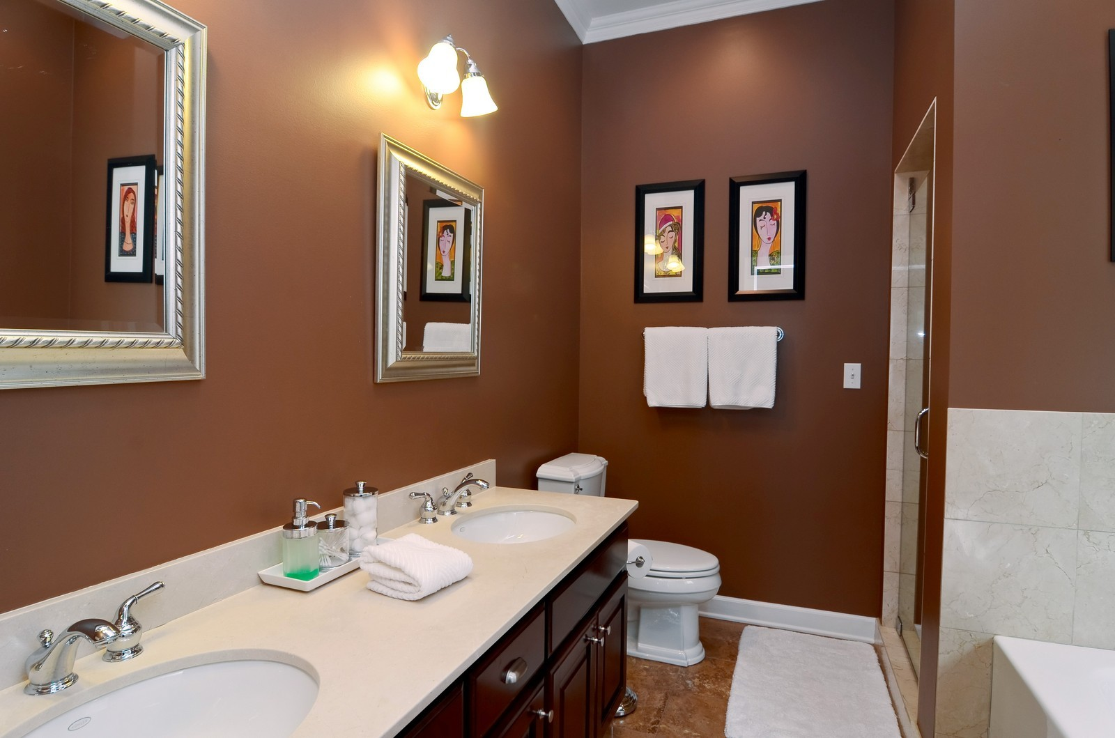 Real Estate Photography - 2068 N Humboldt Blvd, Unit 2, Chicago, IL, 60647 - Master Bathroom